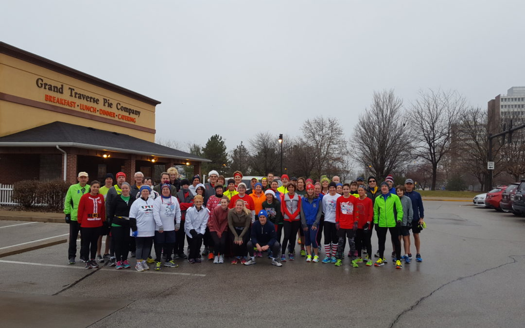 Pictures from Christmas Eve Run